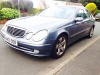 Mercedes Benz E Class E270 Diesel Auto Avantgarde. SAT NAV. Leather Pack Swap P.x Welcome