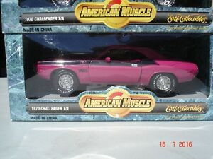 Dodge Challenger Six pack  340 1970 diecast 1/18 die cast