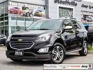 2016 Chevrolet Equinox LTZ AWD, Navi, Roof, Leather, 53,300 KMS