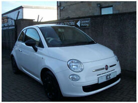 09 59 REG FIAT 500 POP 3DR WHITE WINDOWS BLUETOOTH £30 ROADTAX AIRCON