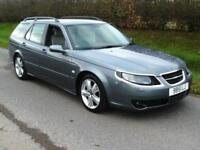 2008 SAAB 9-5 2.3 TURBO, PADDLE SHIFT AUTO, HEATED LEATHER, AIRCON