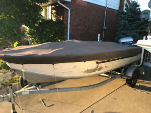 17' Starcraft Alum boat with 90hp Evinrude