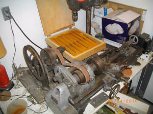 "3 Ft South Bend Metal Lathe with 8"" throw"
