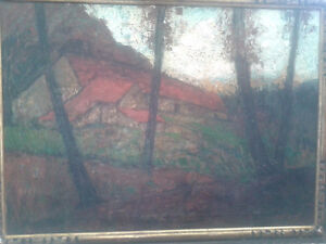 Victor Gilsoul Belgian 1867-1939 Painting
