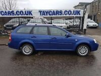 TAYCARS DUNDEE!! 2007/57 CHEVROLET LACETTI 1.6 ESTATE CHEAP ROUND AROUND £1495