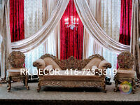 ❤️ South Asian Wedding Decor, Affordable Price, Amazing Quality!