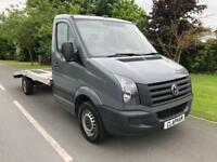 2014 64 VOLKSWAGEN CRAFTER RECOVERY CAR TRANSPORTER 2.0TDI 135BHP 1 OWNER
