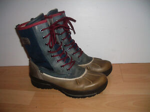 """"" ECCO """" boots / bottes --- like NEW --- size 8 US / 39 EU"