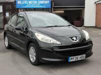 2006 Peugeot 207 1.4 S | Petrol | Manual | Hatchback | Black