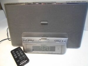SONY RADIO - CLOCK - Alarm clock - Personal Audio Docking System