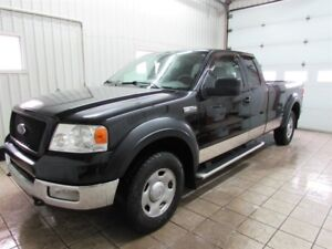 Ford F-150 4x4 Super Cab Long Bed KING CAB 2005