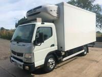 2015 15 Mitsubishi Canter 7C15 Euro 6 Fridge box, Thermo King T800 freezer unit