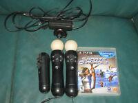 Playstation Move bundle.