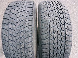 225/55/r18   --WINTER TIRES