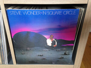 STEVIE WONDER Square Circle VINYL LP
