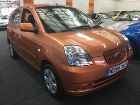 2006 KIA PICANTO 1.1 LX Auto From GBP2250+Retail package.