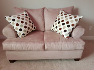 Couch and Love Seat for sale- Mint condition