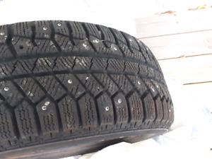 195 55 15 Studded Winter Tires