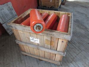 Orange Industrial Rollers
