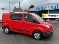 2016 - Fird Transit Double Cab In Van, New MOT and FULL SERVICE HISTORY