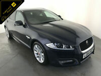 2014 64 JAGUAR XF R-SPORT DIESEL AUTOMATIC 1 OWNER SERVICE HISTORY FINANCE PX