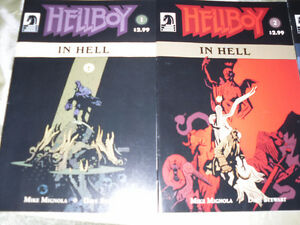 HELL BOY in Hell graphic novels