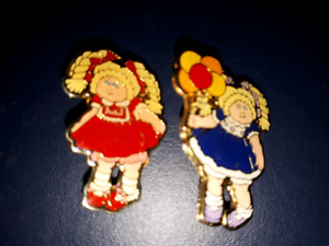 Vintage Cabbage Patch pins