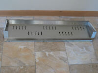 STAINLESS STEEL COMMERCIAL KITCHEN VENTILATION CANOPY PCE.2