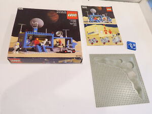 vintage LEGO  space lego  box and pieces plus instructions