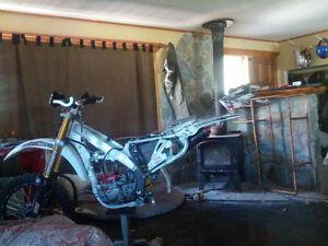 Honda crf450x dirtbike