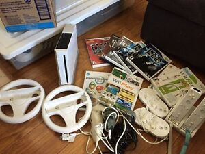 Original Nintendo Wii + Games