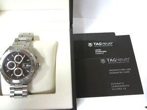TAG Heuer Formula 1 Calibre 16 Automatic Watch CAZ2010.BA0876 London Ontario image 8