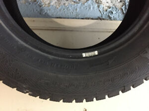 4 Winter tires size 16 perfect condition