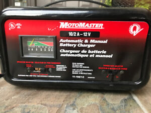 MotoMaster Automatic 12v Battery Charger - $25