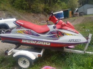2003 seadoo gtx, mint condition selling cheap
