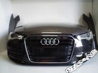 Car part front End assembly unit for Audi A6 2.8 2010 - 2016 4G5 4G2 4GD C7 bonnet bumper fenders