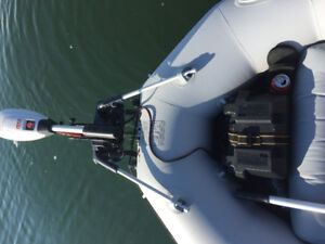 Trolling Motor and Battery + charger
