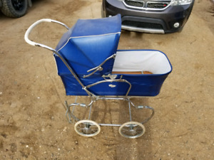 70s antique baby carriage