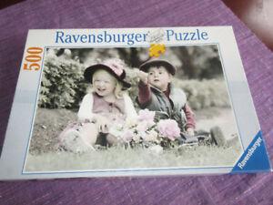 Ravensburger Puzzle (2004) 500 pieces - The Date
