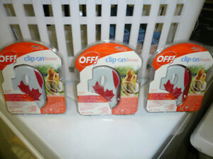 Off Clip-On Mosquito Repellent - NEW