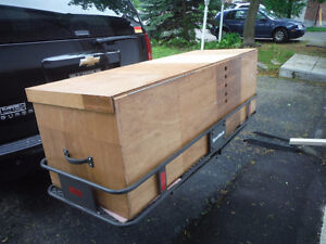 SportRack Cargo Carrier and Box