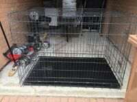 Extra large dog cage/crate