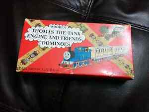 Thomas the tank engine wooden dominos