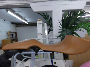 Leather seat for BMW F 650CS