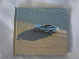 Ferrari 360 Spider Convertible Press Kit Brochure with Photo CD
