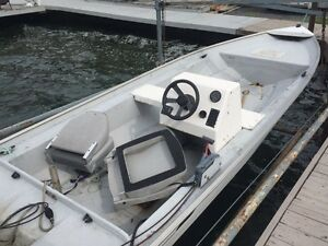 Yamaha 50 HP 4 stroke with Hydro Yatch boat Cornwall Ontario image 1