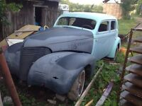 39 chev project car