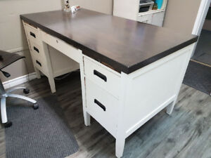 Refinished Hardwood Desk