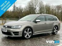 2016 Volkswagen Golf 2.0 R TSI DSG 5d 296 BHP Estate Petrol Semi Automatic