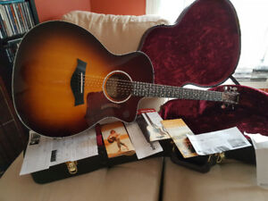 Taylor 214ce SB Deluxe 2016 Factory mint condition.